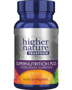 Higher Nature True Food Supernutrition Plus - 180 Tablets